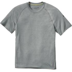 Smartwool Merino 150 Baselayer Pattern Short Sleeve Men Light Gray